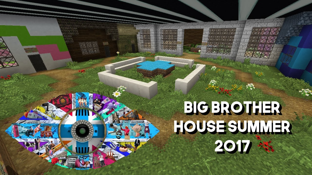 Big Brother House In Minecraft With Remote Control Doors