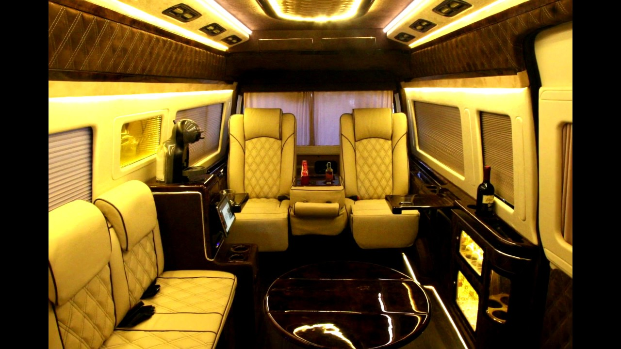 vip toyota hiace commuter interior luxury style by kin 39 s youtube. Black Bedroom Furniture Sets. Home Design Ideas