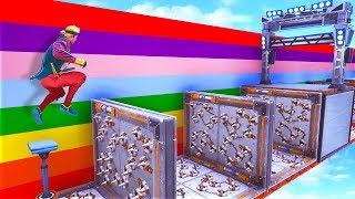 RAINBOW ESCAPE CHALLENGE in Fortnite!