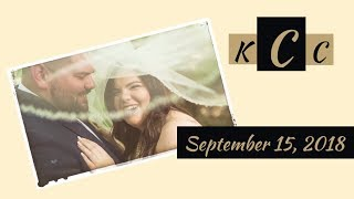 The Wedding of Cameron & Kayla Coleman 09/15/2018