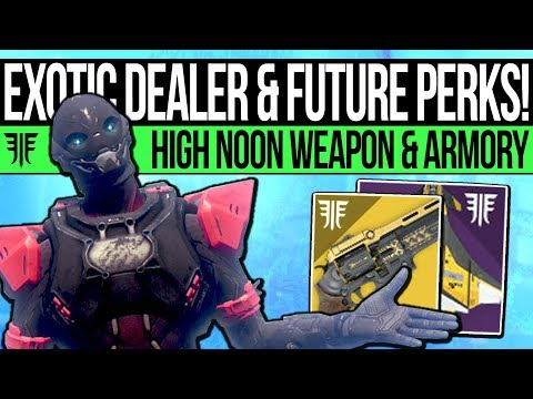 Destiny 2 | NEW WEAPON PERKS & EXOTIC DEALER! High Noon Weapon, October Update, Future Gear & More