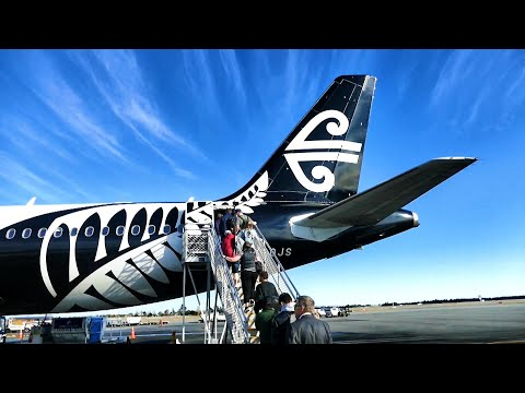 Christchurch To Auckland | TRIP REPORT | On Air New Zealand