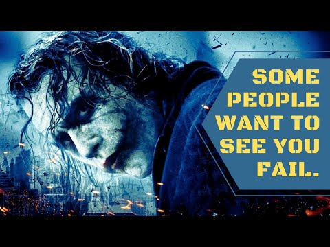 Some people want to see you fail 🔥🔥 | Daily Morning quotes | Joker Quotes | Motivational Quotes