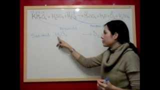 quimica redox e13 ajuste reaccin en medio cido kmno4 h2so4 h2o2