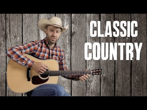 Classic Country Guitar Solo Your Cheatin Heart Easy Country