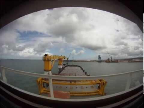 appareillage du port de Cherbourg