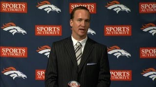 """Manning: """"The Broncos are just a great fit"""""""