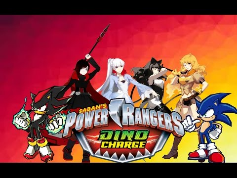 Sonic rwby power rangers dino charge youtube - Sonic power rangers dino charge ...