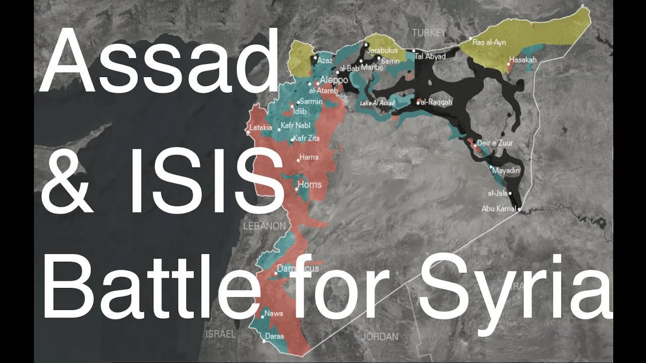 Battle for Syria - Assad vs ISIS