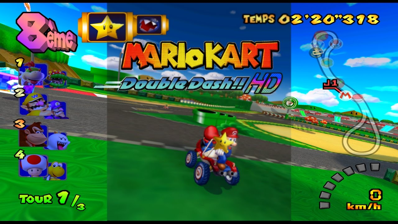 Mario Kart Double Dash Hd Texture Pack V2 2 Youtube
