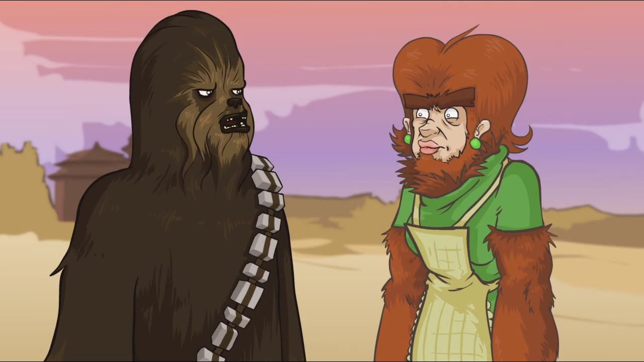 YO MAMA SO HAIRY! Chewbacca - Star Wars - YouTube