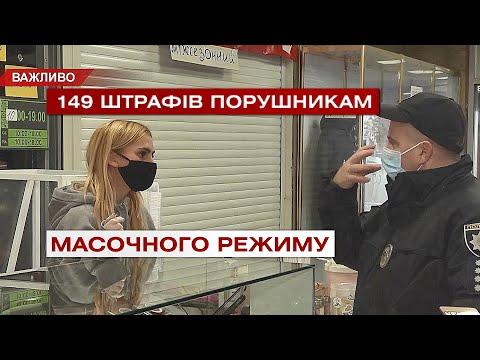 Телеканал ВІТА: 149 штрафів виписали правоохоронці порушникам масочного режиму