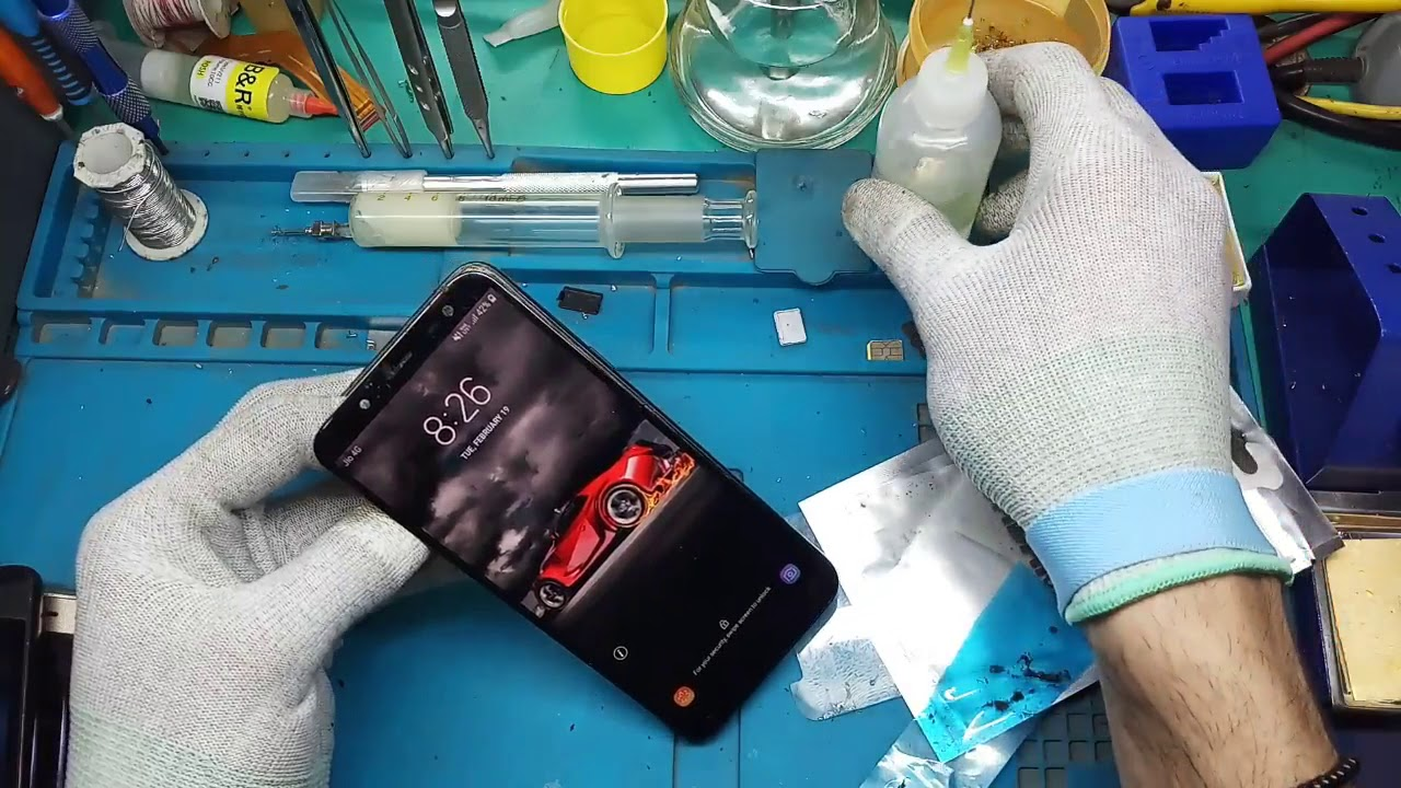 How To Samsung j6 disassembly And Charging Port Replacement