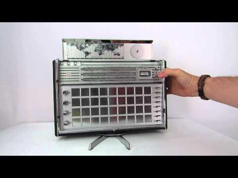 Norelco Philips L6X38T Shortwave AM FM SW Radio 1960's (part 1)