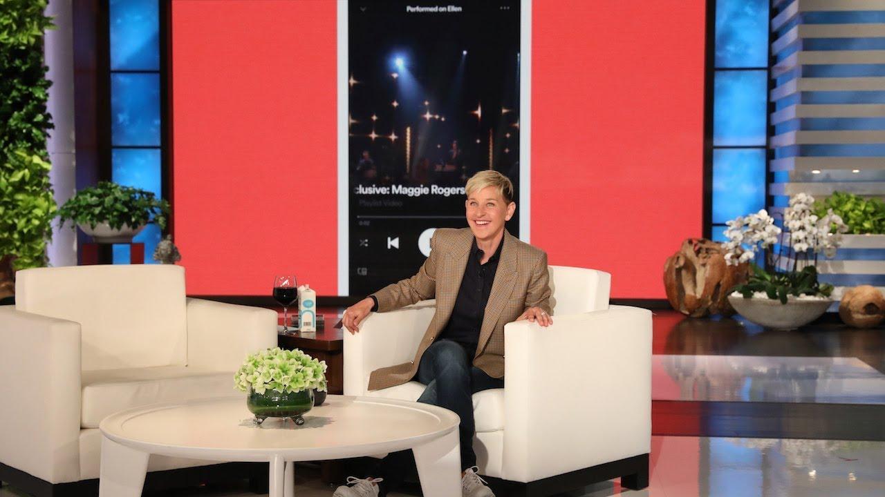 Ellen Shares the Spotify Love!