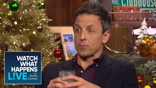 Seth Meyers Debates Tina Fey, Amy Poehler, And The Kardashians  | WWHL