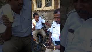 Chandra layout traffic police public harassment