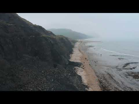 Charmouth Beach - Fossil Hunting