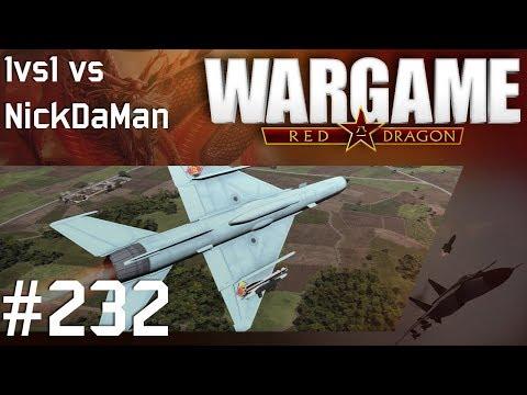 Wargame: Red Dragon #232 - 1vs1 vs NickDaMan | Eastern Block | Plunjing Valley