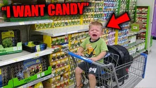 Top 5 PSYCHO KID FREAKOUTS IN STORES #2!