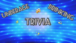 underage drinking trivia/game show for our wellness three project!!