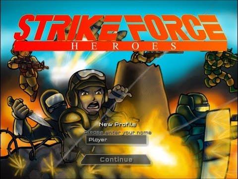 Игры стрелялки - Герои ударного отряда (Strike Force Heroes)