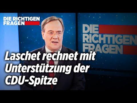 Kanzlerfrage in der Union: CDU-Chef Laschet gibt sich siegessicher   Die richtigen Fragen