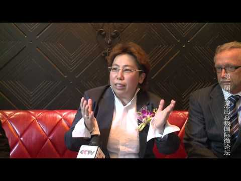 Ms Illya Heng, Interview By CCTV in China No 1 TV Station