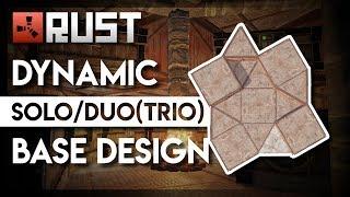 RUST   Dynamic Solo/Duo/(Trio) 3.2 Base Design   ±200 satchels