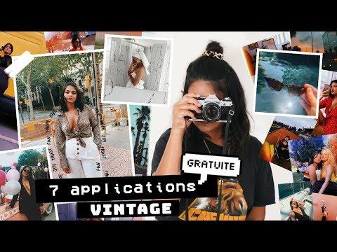 7 APPLICATIONS GRATUITES POUR DES PHOTOS/VIDÉOS VINTAGE !