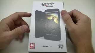 Yezz Andy C5V - déballage