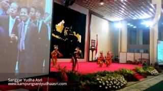 Tari Lenggang Nyai(Live)-Yudha Asri@Kunjungan Delegasi Parlemen Jepang, Gd. DPR/MPR RI, Jkt,24112015