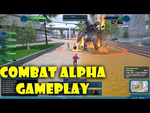 Ship of Heroes Combat Alpha Gameplay [WE PLAYED IT!]