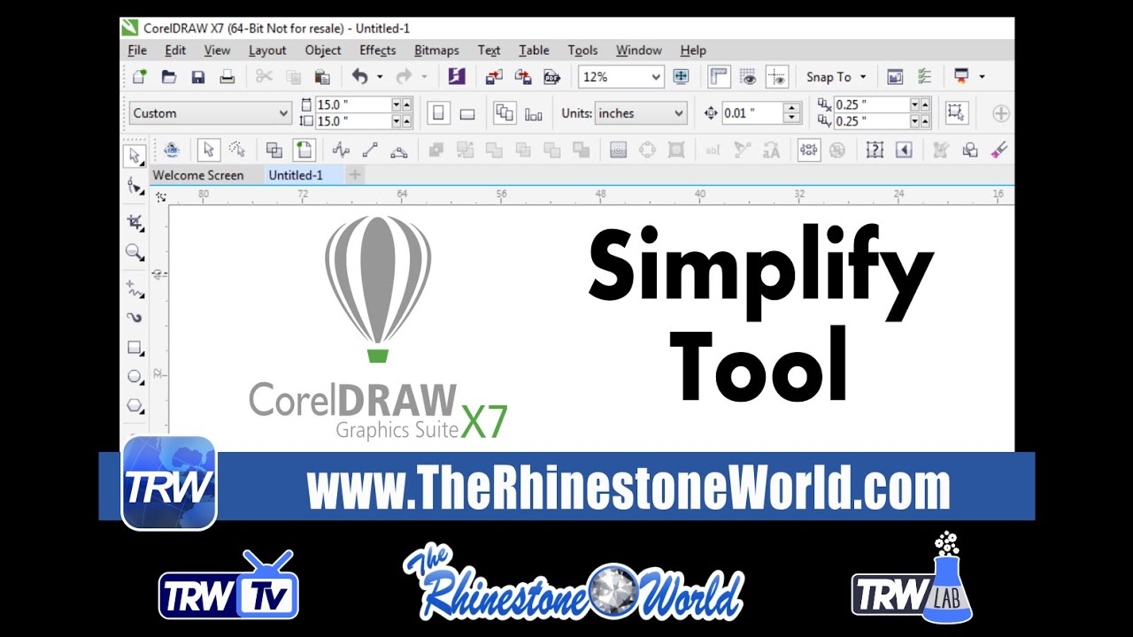 Free Trw Stone Editor Macro Coreldraw Drawing The