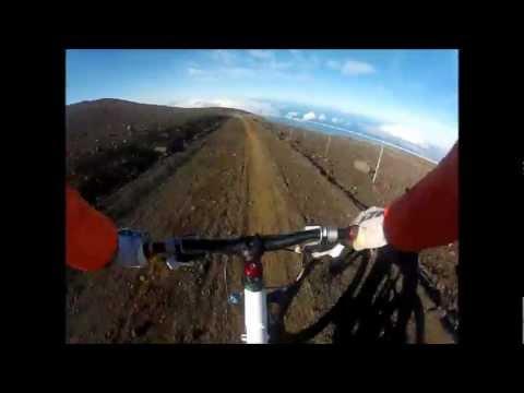 Skyline Trail - Haleakala Maui Hawaii - Downhill