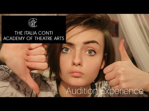 My Itlia Conti Academy of Theatre Arts Audition Experience ↕ BA Acting Audition