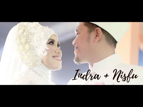 VIRGOUN - SURAT CINTA UNTUK STARLA | WEDDING ROMANTIS | WEDDING CINEMATIC INDRA + NISFU