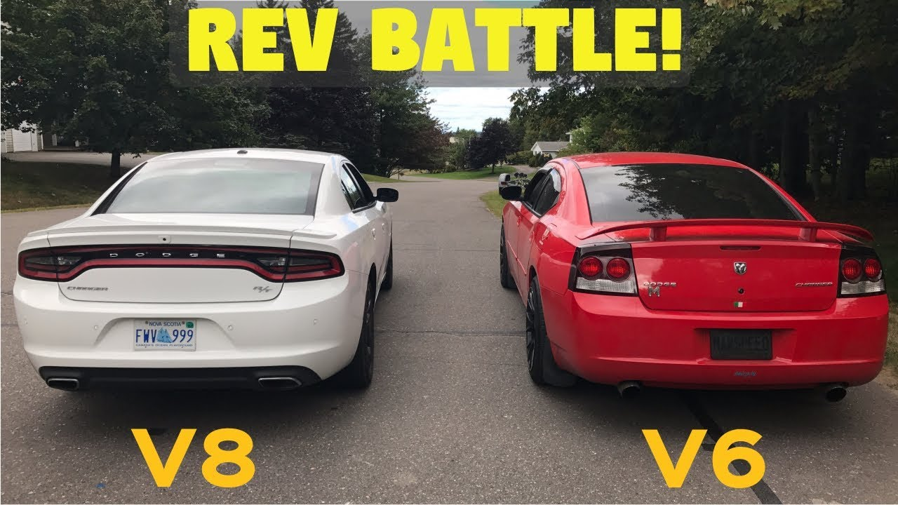 Dodge Charger Rev Battle 2017 R T Stock Vs 2009 Sxt