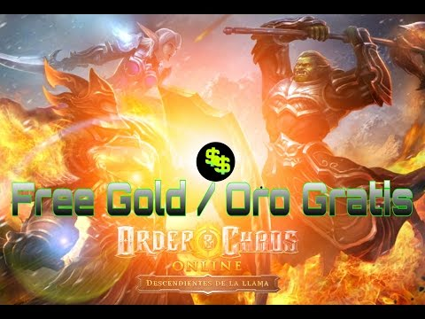 ORDER AND CHAOS - Bug Oro Gratis / Free Gold