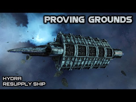 Battlestar Galactica: Cylon Hydra Resupply Ship - Deadlock Proving Grounds - Spacedock