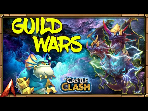 Castle Clash Guild Wars Vs. Android Top Guilds!