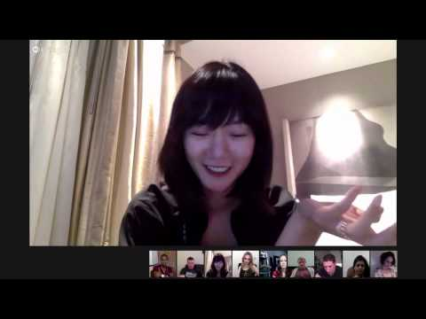 doona bae sense8-Global Hangout with the cast of Sense8剪辑镜头
