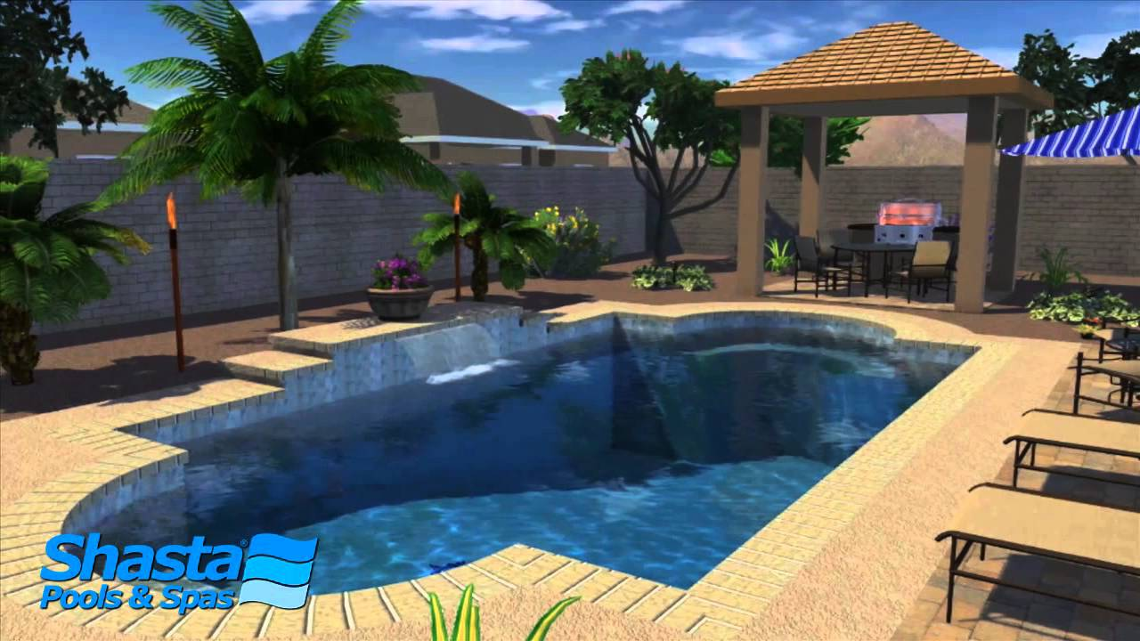 Arizona pool design designing your backyard living area for Pool design az