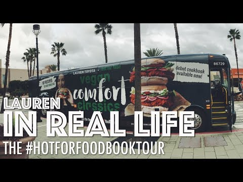 THE #HOTFORFOODBOOKTOUR | Lauren In Real Life