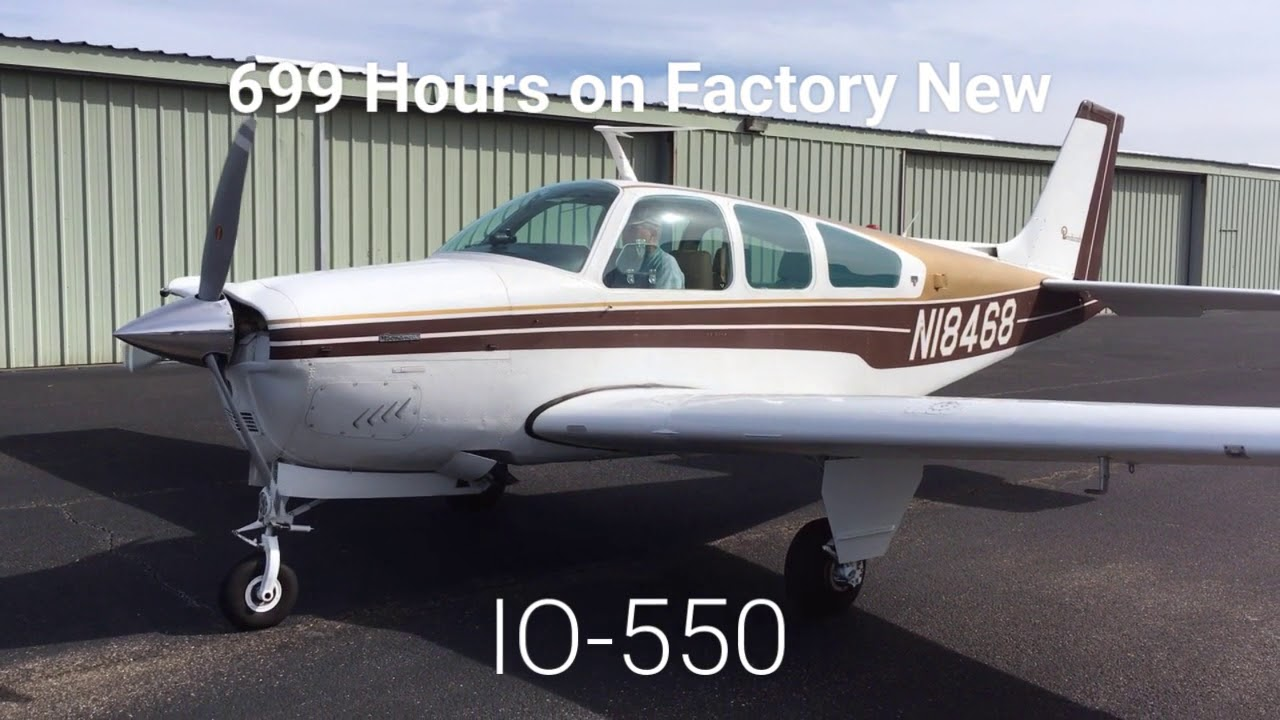 1977 Beech F33A Bonanza for Sale from WildBlue - N18468 (SOLD!)