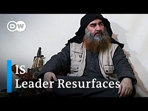 IS leader al-Baghdadi resurfaces in propaganda video   DW News