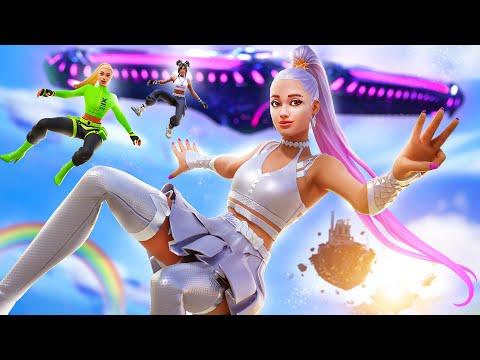 Fortnite – Ariana Grande (Official Fortnite Music Video) 7 Rings | Fortnite Rift Tour Concert