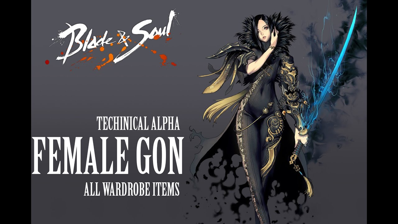 Blade & Soul All Costumes ( Female Gon )