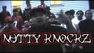 "NUTTY KNOCKZ ""KNOCKIN NIGGAZ OUT"""