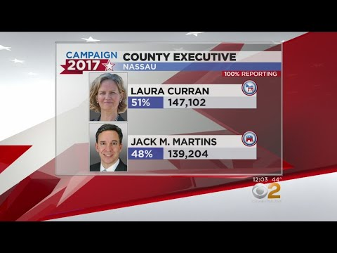 Laura Curran Leads In Nassau County Executive Race